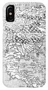 Map Of New France, 1566 IPhone Case