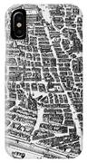 Map Of Paris IPhone Case