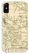 Map Of Persia IPhone Case