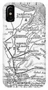 Map: Suez Canal, 1869 IPhone Case