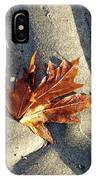 Maple Leaf Forever IPhone Case