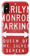 Marilyn Monroe Parking IPhone Case