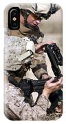 Marine Gives Instructions On How IPhone Case