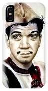 Mario Moreno As Cantinflas In El Bombero Atomico  IPhone Case