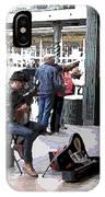 Market Busker 2 IPhone Case