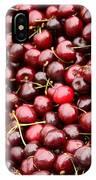 Market Cherries IPhone Case