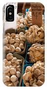 Market Mushrooms IPhone Case