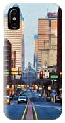 Market Street In The Morning IPhone Case