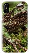 Marsupial Frog Gastrotheca Sp, A Newly IPhone Case