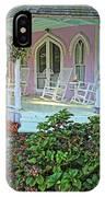 Marthas Vineyard Cottage IPhone Case