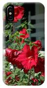 Martha's Vineyard Red Hibiscus And Porch IPhone Case