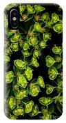 Martian Plants Against Black IPhone Case