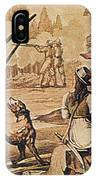 Mary Read And Anne Bonny, 18th Century IPhone Case