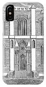 Masonic Hall, C1830 IPhone Case