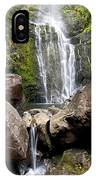 Mauis Wailua Falls And Rocks IPhone Case