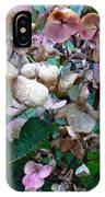 Mauve Hydrangea In Fall  IPhone Case