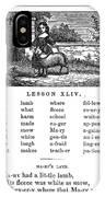 Mcguffeys Reader, 1853 IPhone Case