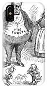 Mckinley Cartoon, 1900 IPhone Case