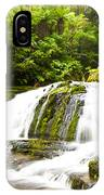 Mclean Falls In The Catlins Of South New Zealand IPhone Case
