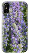 Meadow Sage Flowers IPhone Case
