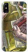 Measuring Alcohol Intake, Artwork IPhone Case