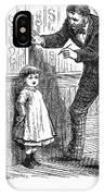 Measuring Children, 1876 IPhone Case