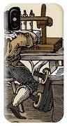 Mediaeval Book Manufacture IPhone Case