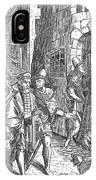 Medieval Prison, 1557 IPhone Case