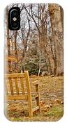 Meditation At Valley Forge IPhone Case