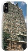Meenakshi Temple IPhone Case