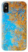 Meet In Heaven. Autumn Glory IPhone Case