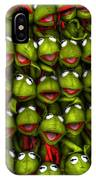 Meet The Froggers IPhone Case