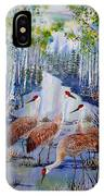 Meeting At The Slough IPhone Case