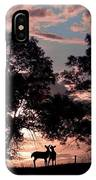 Meeting In The Sunset IPhone Case