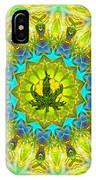 Mellow Yellow Mandala IPhone Case
