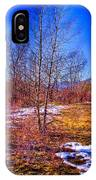 Melting Snow In South Platte Park IPhone Case