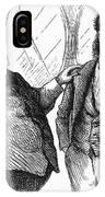 Men Drinking, 1872 IPhone Case