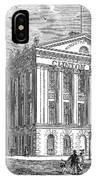 Mercantile Library, C1830 IPhone Case