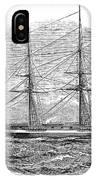 Merchant Steamship, 1844 IPhone Case