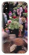 Merchants At Saqqaras Market Carry IPhone Case