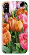 Merry Dresden Style Tulips IPhone Case