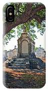 Metairie Cemetery IPhone Case