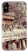 Metal Wagon On The Trestle IPhone Case
