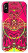 Metamorphosis  Emerging From The Cocoon Fractal 125 IPhone Case