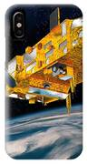 Metop Weather Satellite, Artwork IPhone Case