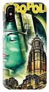 Metropolis Poster IPhone Case