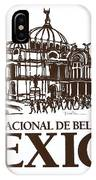Architecture. Mexico City - Palace Of Fine Art IPhone Case