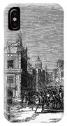 Mexico City, 1845 IPhone Case