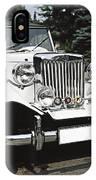 Mg Classic Car IPhone Case