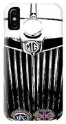 Mg Grill With Dash Of Color IPhone Case